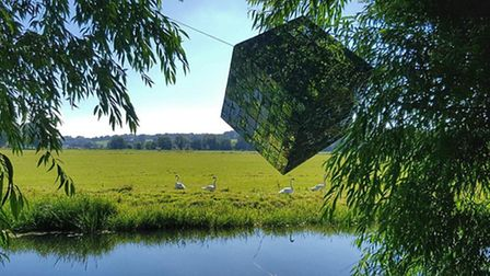 River Waveney Sculpture Trail. Photo: Andrew Atterwill
