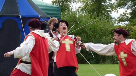 Boxtree Productions' Scarlett Pimpernel at Hedingham Castle