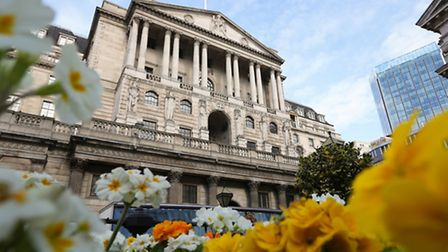 File photo dated 06/03/14 of the Bank of England in London. Picture: Gareth Fuller/PA Wire