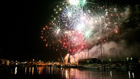 Fireworks will light up Ipswich Waterfront this weekend. Photo: Jen O'Neill