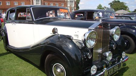 Helmingham Hall welcomes some classics and sport cars this weekend.