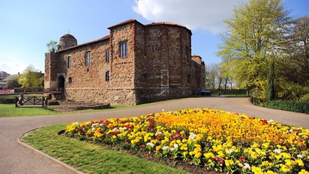 Colchester castle. The park is the setting for the first major scene in James Henry's crime thriller