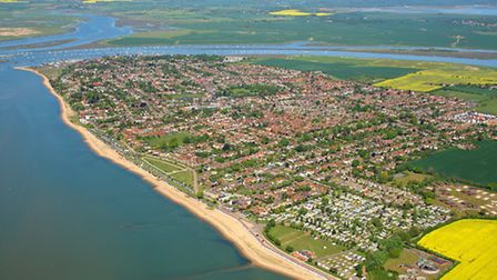 Mersea Island - a place that features large in James Henry's novel Blackwater. Photo: Mike Page
