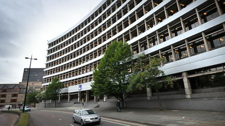 Axa's offices in Civic Drive, Ipswich.
