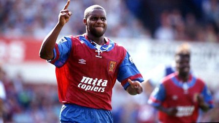 Dalian Atkinson pictured during his time at Aston Villa