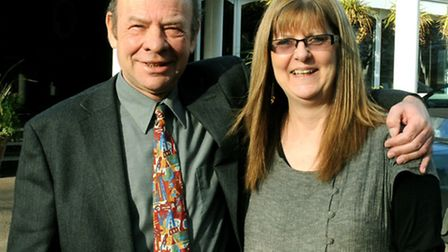 Steve and Jane Denton when they took over the former Hotel Elizabeth at Copdock in 2011.