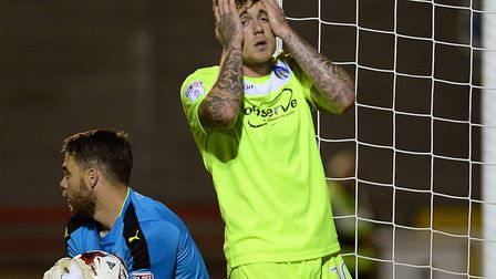 Sammie Szmodics cannot believe his bad luck in front of goal at Crawley last season. The U's will be