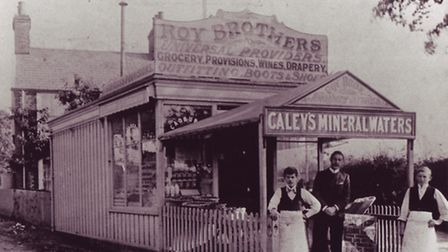 Roys of Wroxham - the first store in Hoveton Store at turn of the century