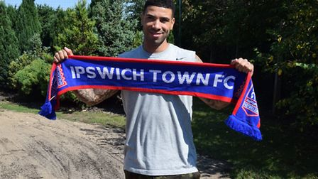 Leon Best will wear the number nine shirt for Ipswich Town