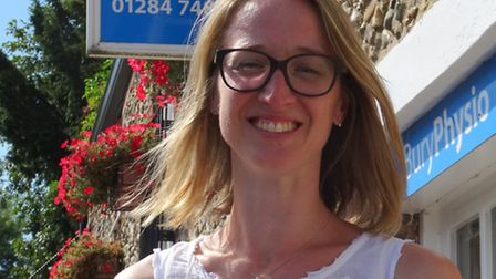 Health psychologist Dr Julie Denning of Working Towards Wellbeing, part of Bury Physio