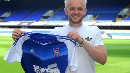 Jonny Williams, the latest signing for Ipswich Town.