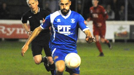 Bradley Barber misses out for Bury Town today