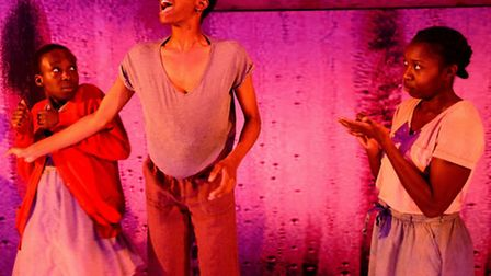 Girls by Theresa Ikoko at the HighTide festival