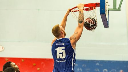 Leigh Greenan scored 10 points and 10 rebounds