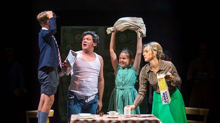 Made in Dagenham which opens next week at the New Wolsey Theatre in Ipswich. L-R Christian Kraus, Al