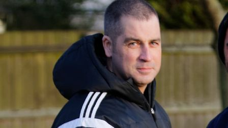 Felixstowe manager Kevin ODonnell