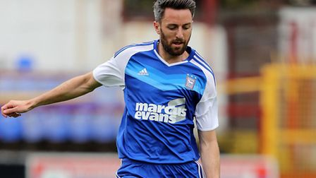 Cole Skuse in action for Ipswich Town. Photo: Inpho Photography