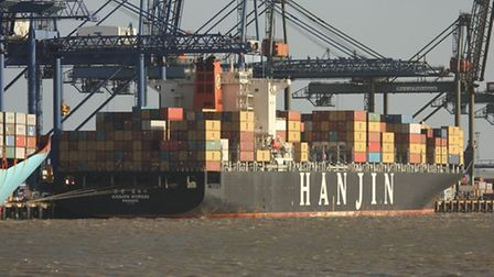 South Korean shipping line Hanjin has filed for bankruptcy.