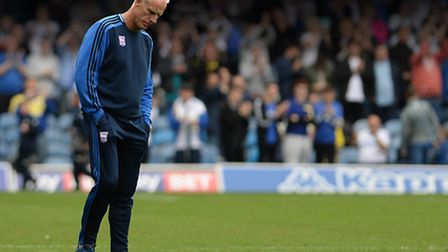 Mick McCarthy after the final whistle at Leeds. Photo: PAGEPIX LTD