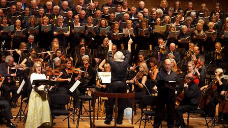 A Feast of Chorus and Variations, performed by the Trianon Symphony Orchestra and Choir at Snape Mal