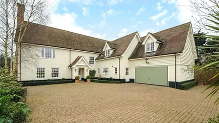 One of the most expensive houses sold in Suffolk in August 2016