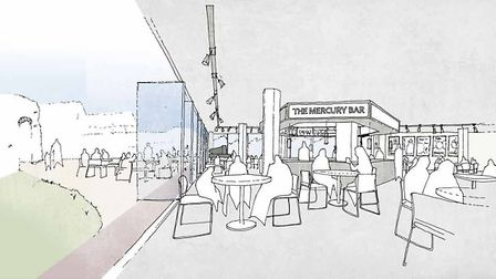 Artists' impressions of £8,8m plans to redevelop Mercury Theatre, Colchester