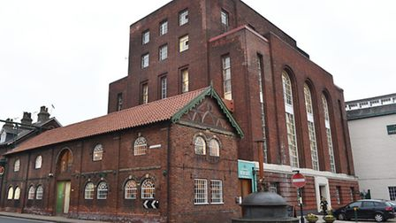 The Greene King brewery in Bury St Edmunds.