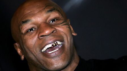 Former heavyweight boxer Mike Tyson, once rescued from a mob by Andy Kershaw. Photo: David Davies/PA
