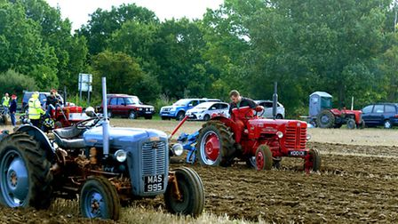 Ploughing side by side