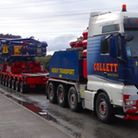 170-tonne transformer on the move from Lowestoft to Greater Gabbard�Sizewell - Philip Jones