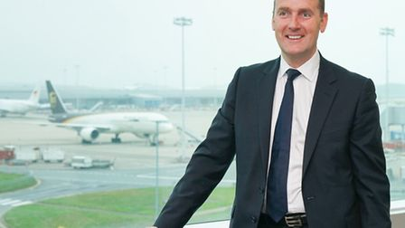 Andrew Cowan, chief executive at Stansted Airport.