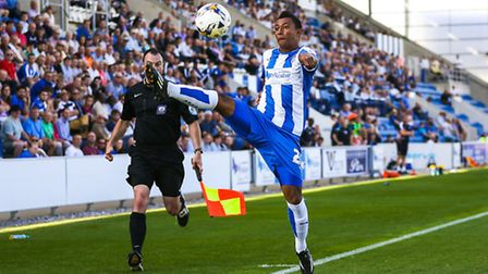 File picture of Dion Sembie-Ferris in action for Colchester United. Picture: Steve Waller www.st