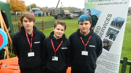 Easton and Otley College students at last year's Suffolk Skills Show.