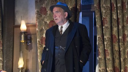 Daragh O'Malley as Inspector Belsize in Night Must Fall. Photo: Alastair Muir