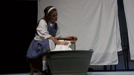 Brooke Vincent in Be My Baby at the Theatre Royal, Bury St Edmunds.