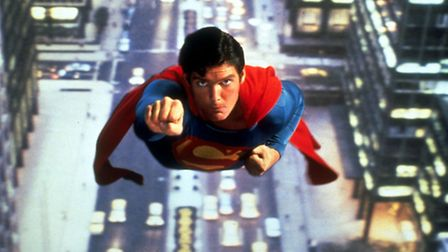 Christopher Reeve in Superman.