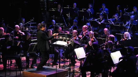 The BBC Concert Orchestra who performed at this year's Alwyn Festival at the Snape Maltings Concert