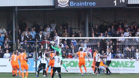 Braintree clear this Dover attack