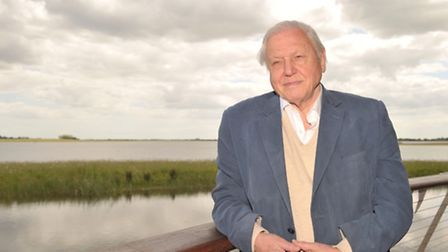 Sir David Attenborough reopened the Abberton Reservoir for Essex and Suffolk Water and Essex Wildlif