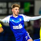 Teddy Bishop in action during the Ipswich Town v Burton Albion (Sky Bet Championship) match at Portm