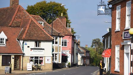 Wickham Market was in the top five of a national best villages competition organised by the Departme