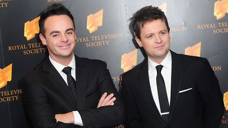 Anthony McPartlin (left) and Declan Donnelly: Ian West/PA Wire