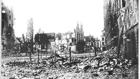 The ruins of Ypres