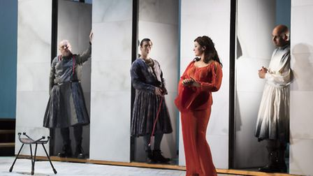 Ulysses' Homecoming, staged by English Touring Opera at Snape Maltings
