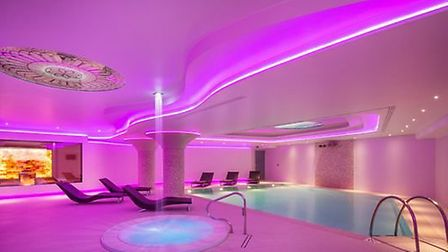 Charlotte Travel Umbria. The spa at Valle Di Assisi resort.