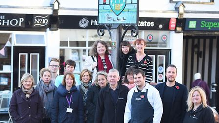 Framlingham businesses will be bring some festive cheer to the town