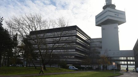 The report says more well-paid jobs are needed in Suffolk - like those at Adastral Park near Ipswich