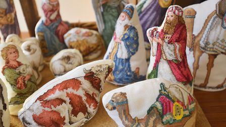 Nativity figures produced by Grundisburgh Craft Group