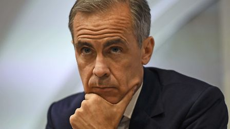 Bank of England governor Mark Carney. Photo : Dylan Martinez/PA Wire