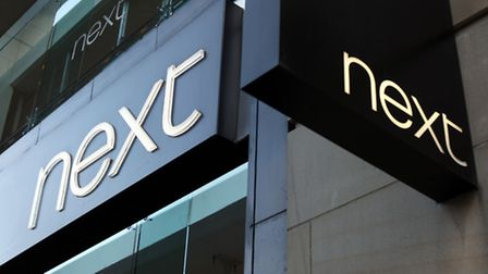 Next saw its high street sales fell 5.9% in the third quarter. Photo: Paul Faith/PA Wire